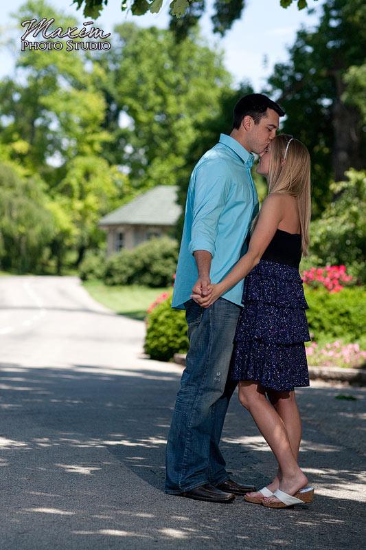 Spring Grove Cemetery Cincinnati Engagement