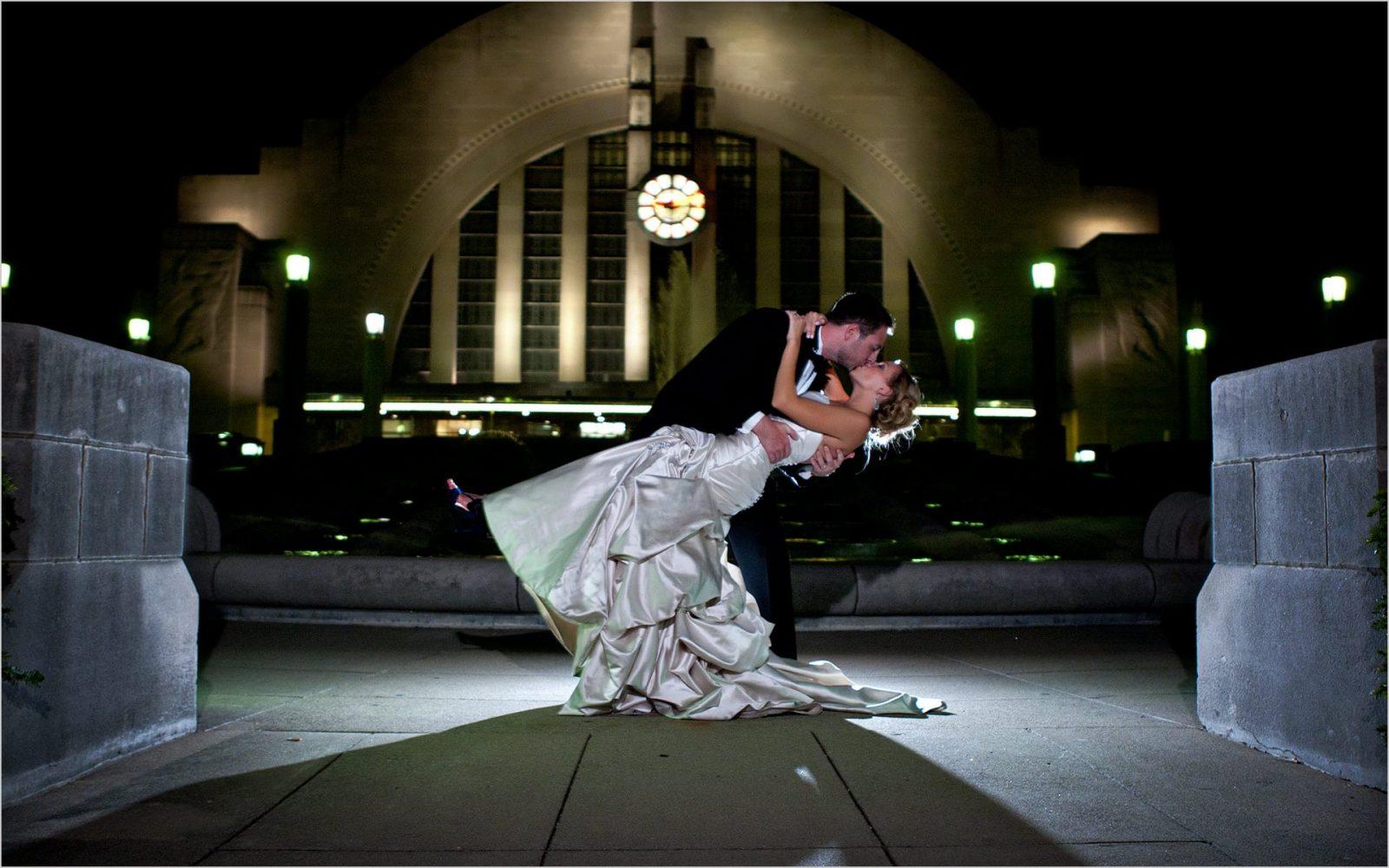 Cincinnati Museum Center Wedding Reception
