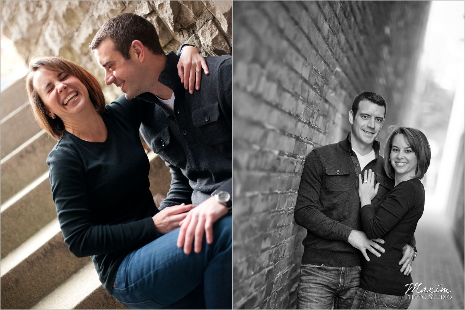 Hyde Park Engagement Cincinnati Wedding Photographers