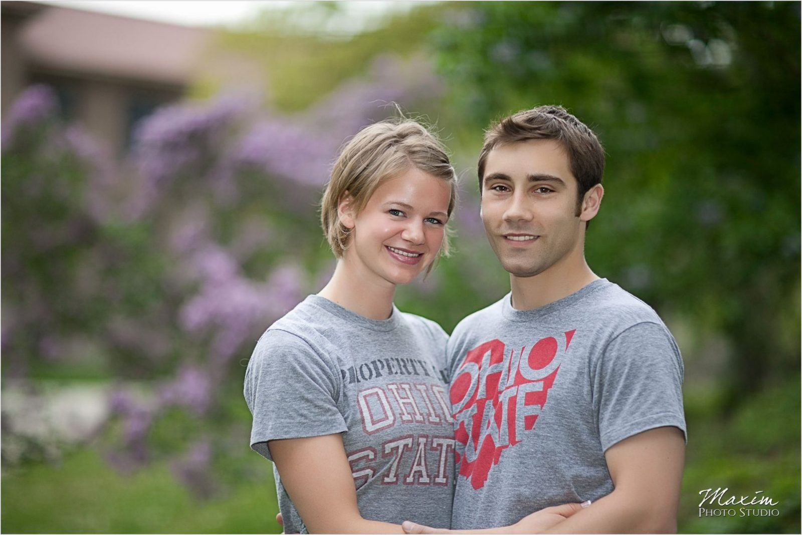 Columbus Ohio University Engagement photography