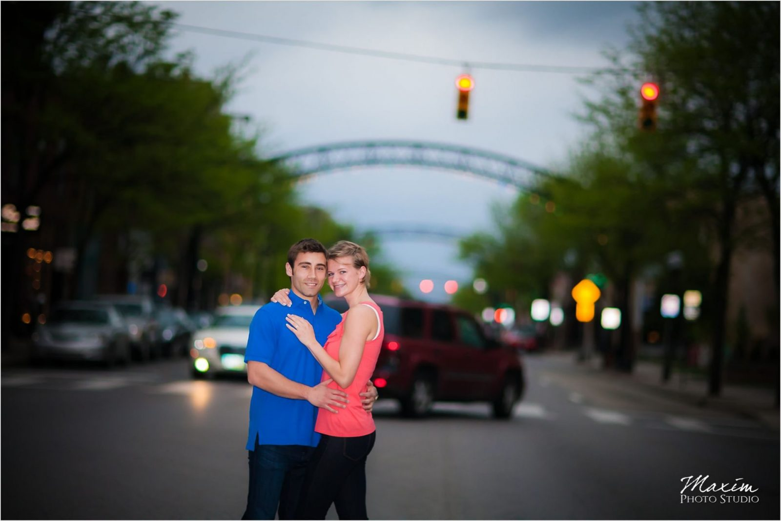 Columbus Wedding Photographers Short North Engagement