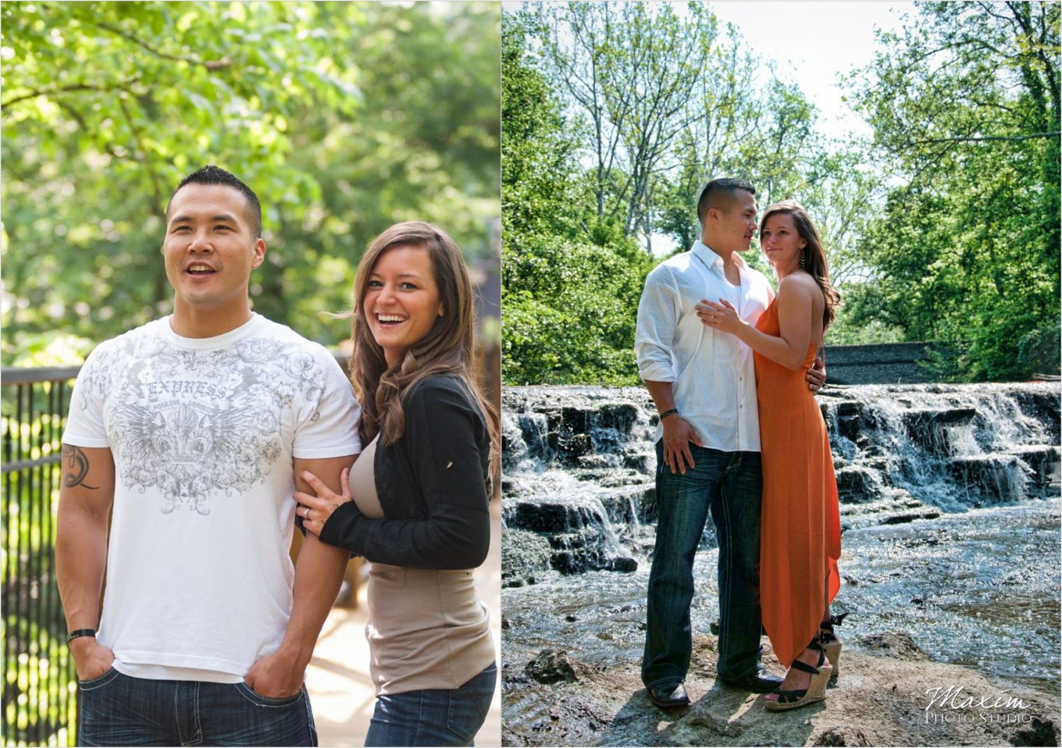 Sharon Wood Metro Park Engagement Fountain