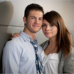 University of Cincinnati Engagement Photography Couple