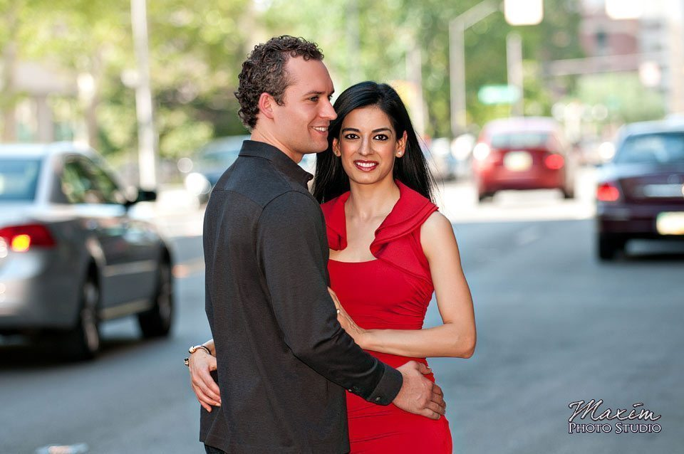 Downtown Columbus Wedding Engagement Photographer