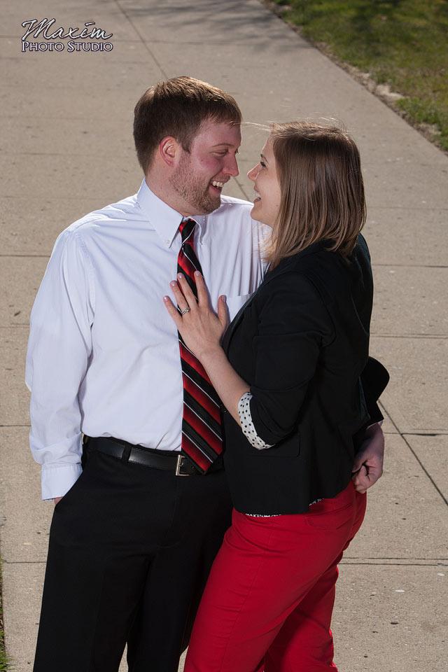 Cincinnati Wedding Photographers at Miami of Ohio Engagement