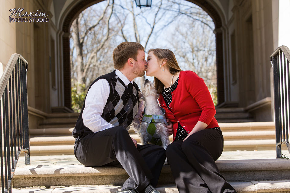 Cincinnati Wedding Photographer Upham Arch Engagement