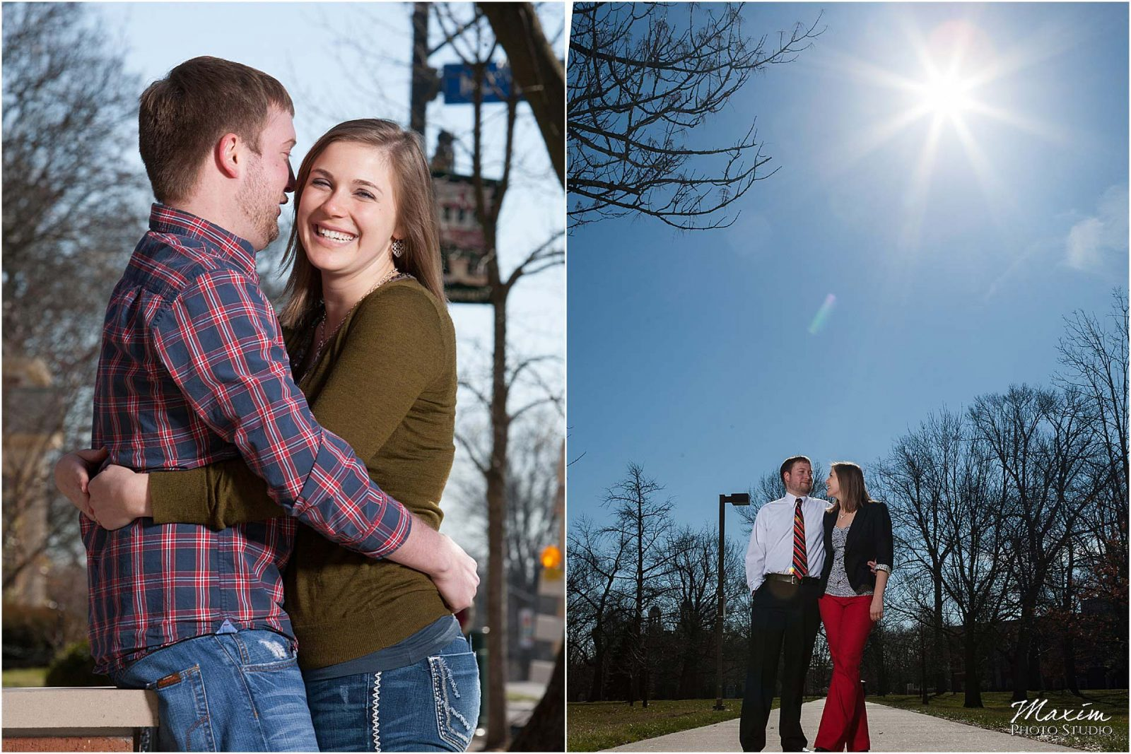 Best Dayton Ohio Engagement Photography, Miami of Ohio University Engagement, Oxford Ohio Engagement