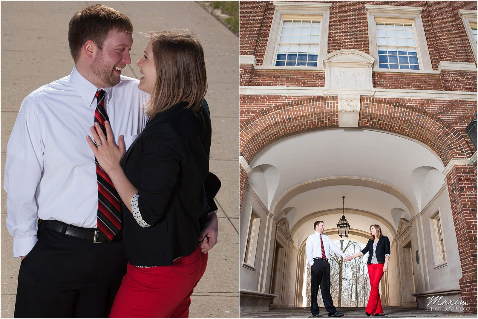 Miami of Ohio University Engagement, Oxford Ohio Engagement
