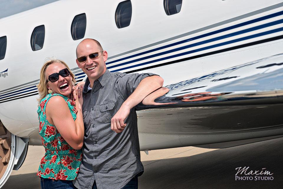 Lunken Airport Cincinnati Engagement