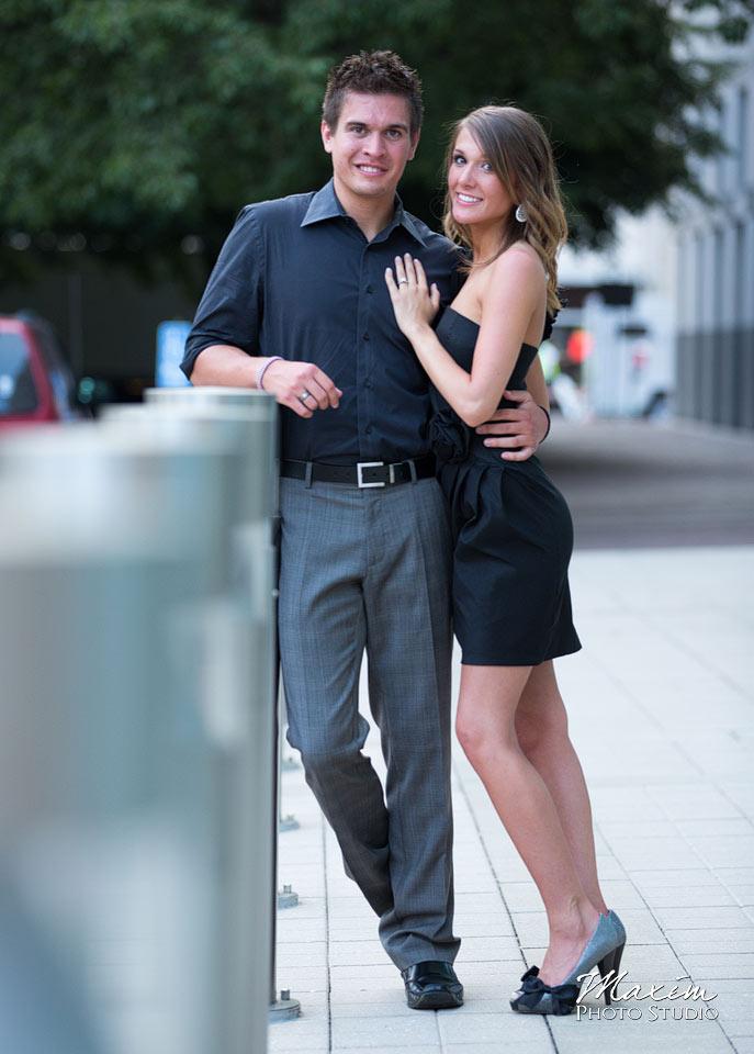 P&G Gardens engagement, cincinnati wedding engagement