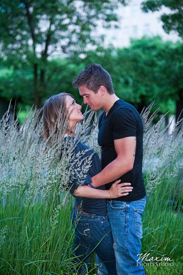 P&G Gardens, tall brush engagement, cincinnati wedding engagement