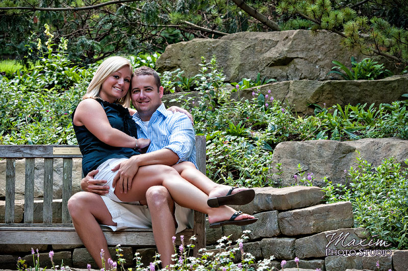 Inniswood Metro Gardens Columbus Engagement