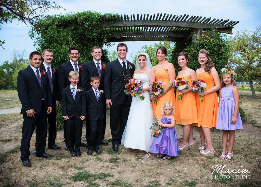 Bridal Party Cox Arboretum