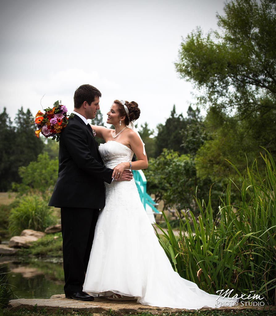 Cox Arboretum Wedding portraits