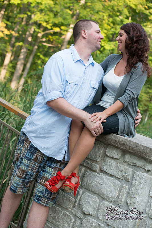 Hills and Dales Park Dayton EngagementHills and Dales Park Dayton Engagement