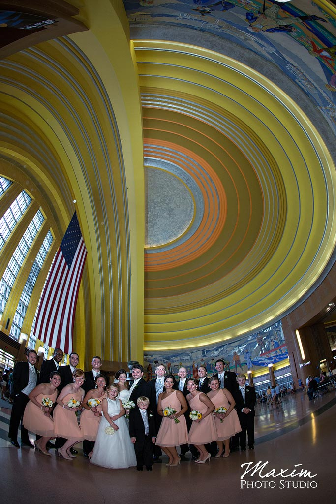 Museum Center Union Terminal wedding