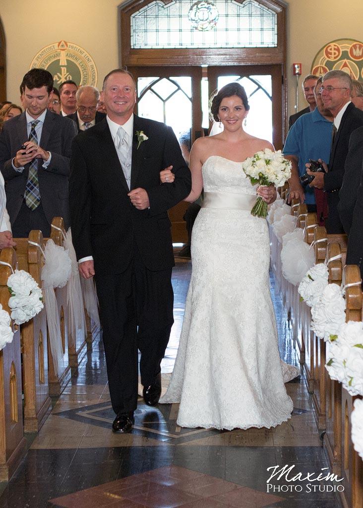 St. Aloysius Chapel Cincinnati Wedding