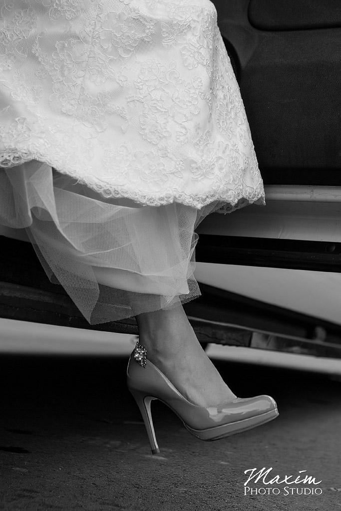 St. Aloysius Chapel Cincinnati Wedding shoes