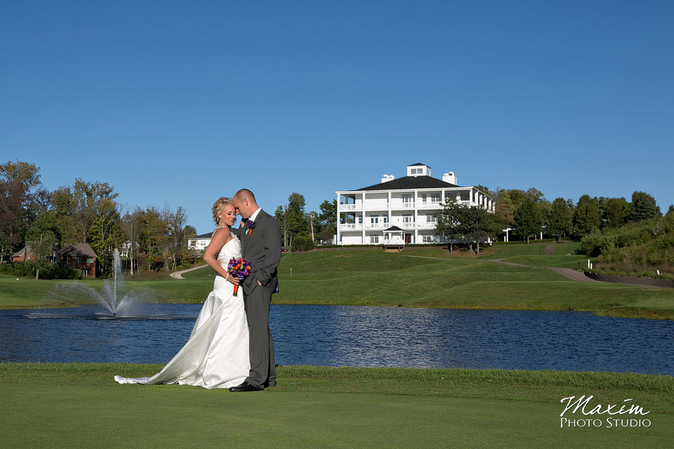 Pebble creek golf club wedding, Bride and groom, Cincinnnati Wedding