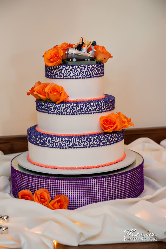 Pebble Cree Golf Wedding Cake