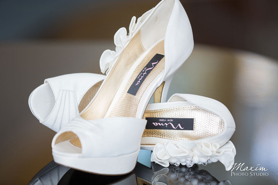 Anderson Center Cincinnati Wedding Shoes