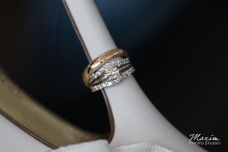 Anderson Center Cincinnati Wedding rings