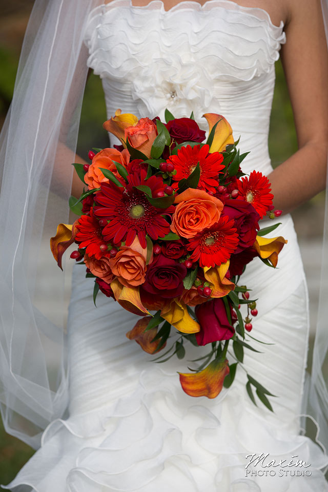 Anderson Center Wedding Flowers