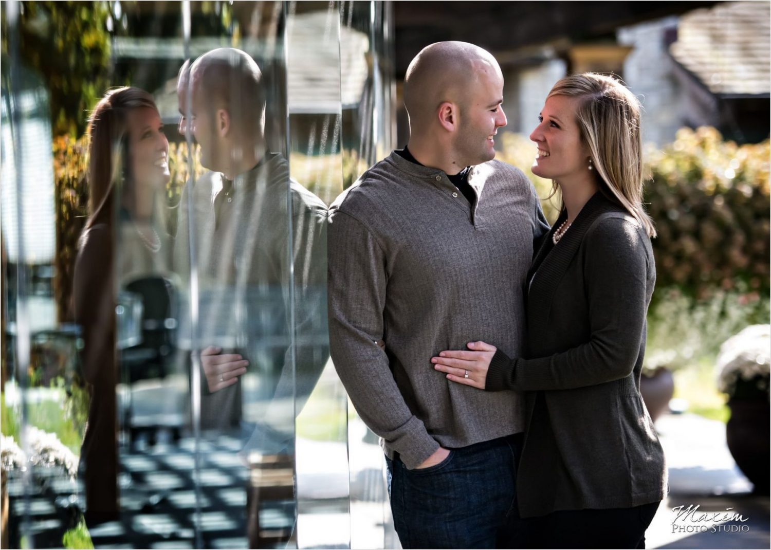 Cox Arboretum Wedding Engagement Photography NCR Hall