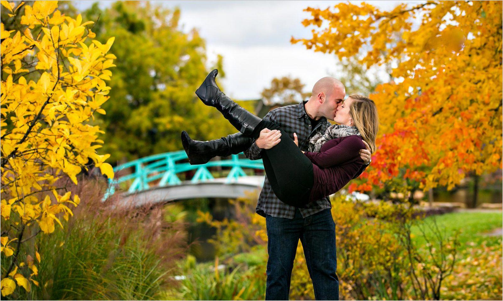 Cox Arboretum Dayton Engagement