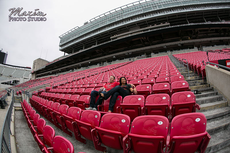 Ohio Stadium Engagement Pictures