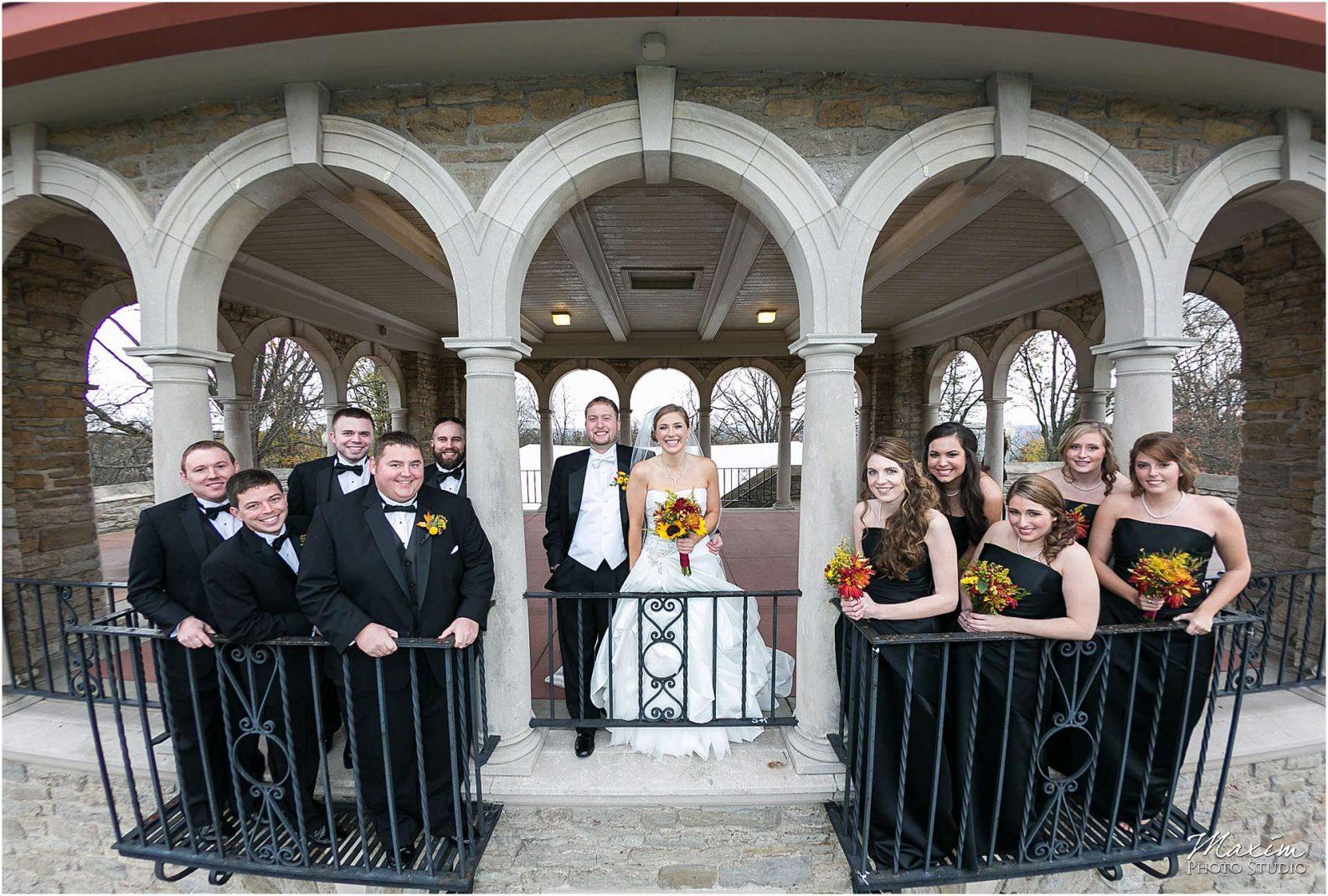 Alms Park Wedding, Cincinnati Parks