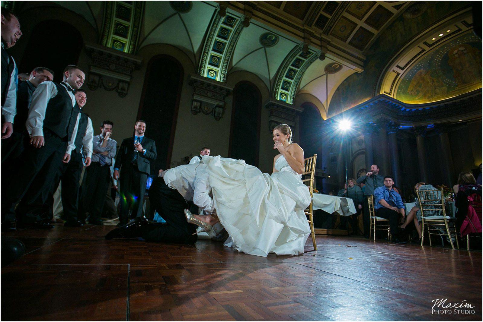 The Bell Event Centre, Wedding Reception, Wedding garter