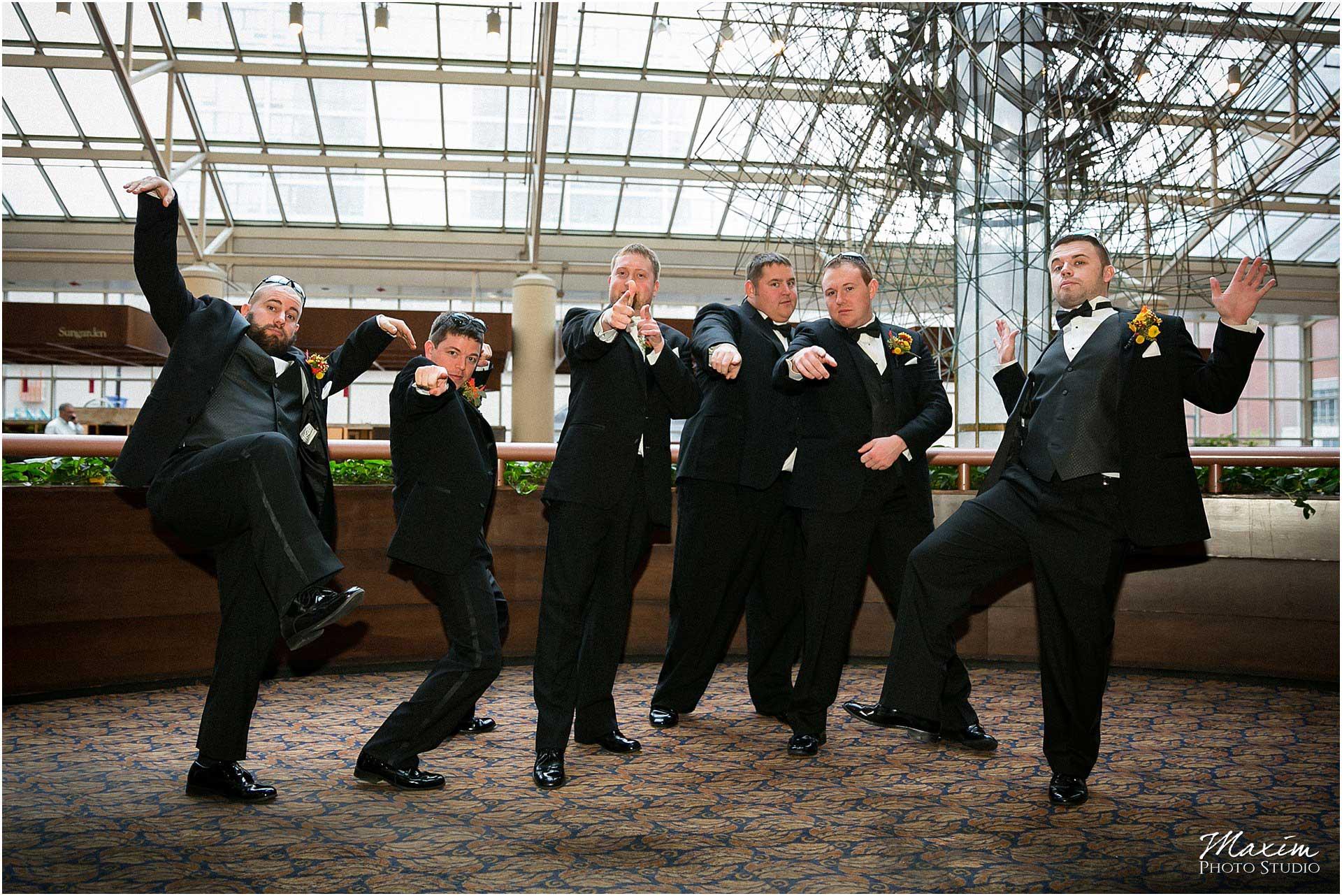 Cincinnati Hyatt Regency Wedding, Cincinnati Wedding Photography