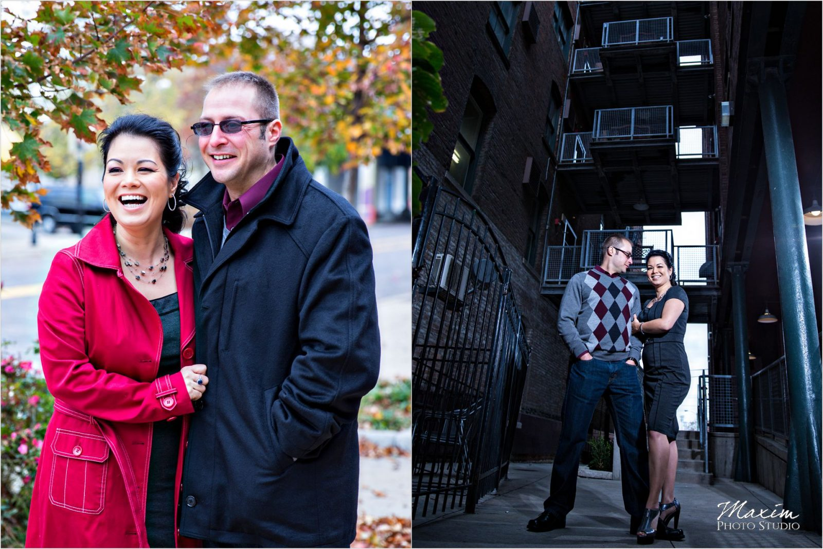 Dayton Wedding Photographers Oregon District Engagement