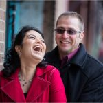 Dayton Wedding Photographer Oregon District Engagement