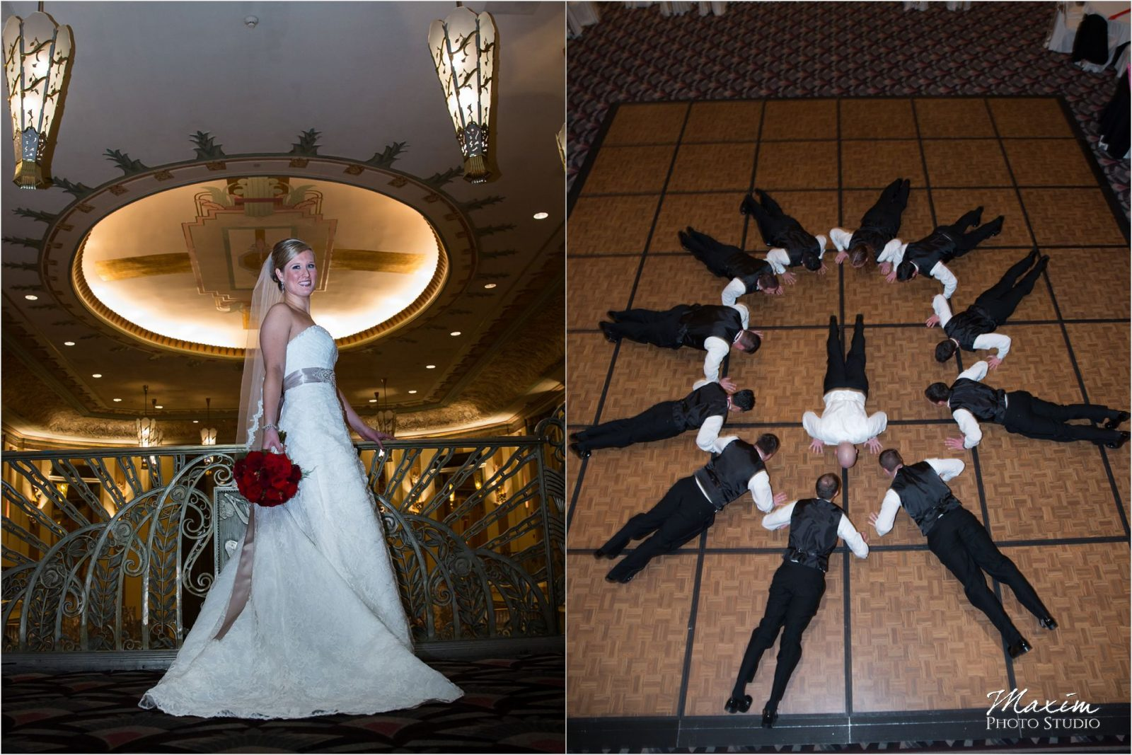 Hilton Netherland Plaza Wedding Reception