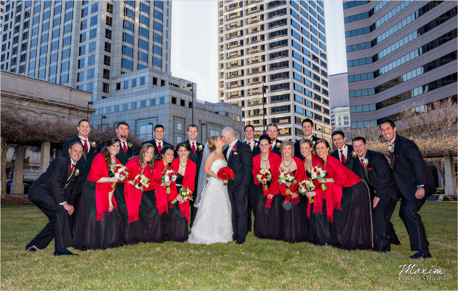 P&G Gardens Cincinnati Bridal Party