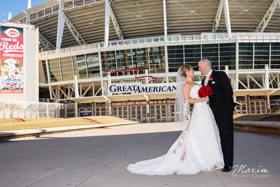 great american ballpark cincinnati wedding