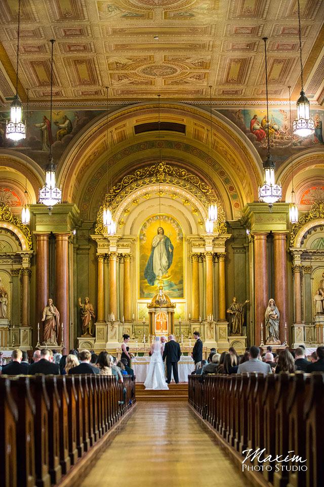 st mary's church cincinnati wedidng