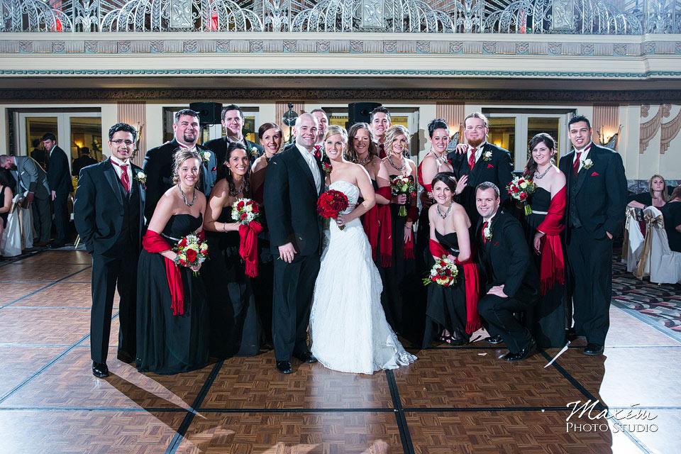 hilton netherland plaza hotel hall of mirrors cincinnati wedding reception