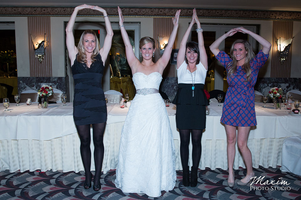 hilton netherland plaza hotel cincinnati wedding reception o-h-i-o