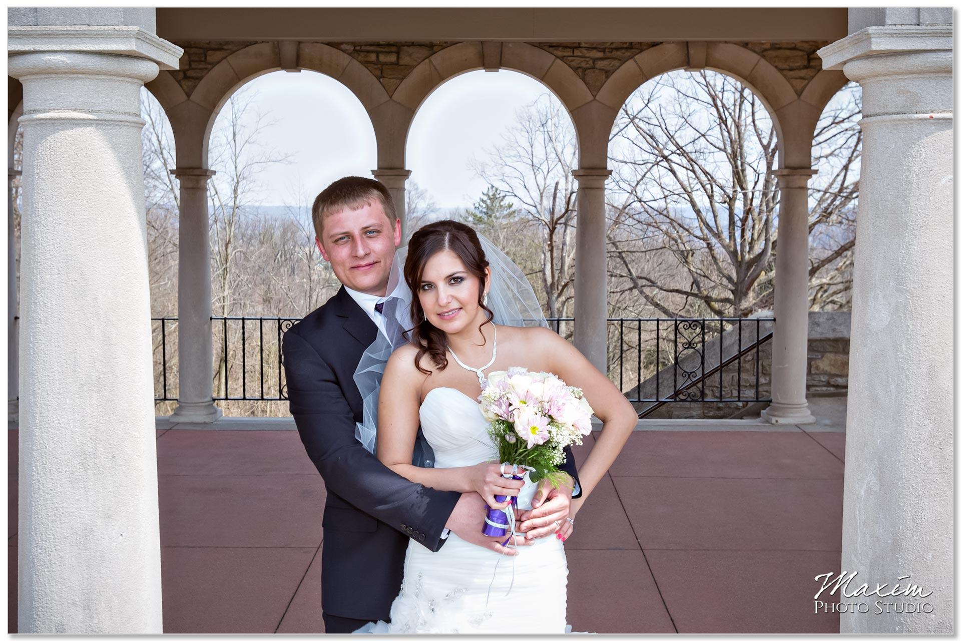 Alms Park Pavilion Russian Cincinnati Wedding Bride