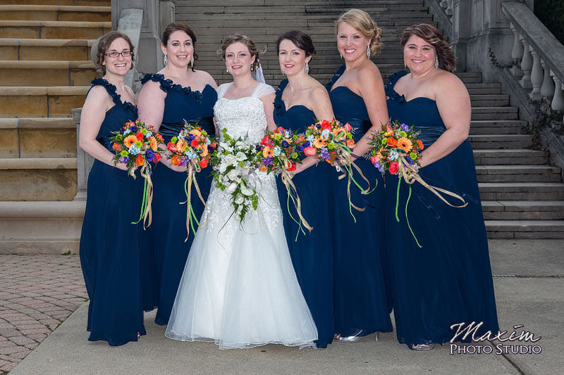 Ault Park Cincinnati Wedding Bride