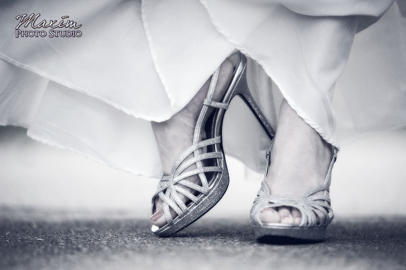 Ault Park Cincinnati Wedding Shoes