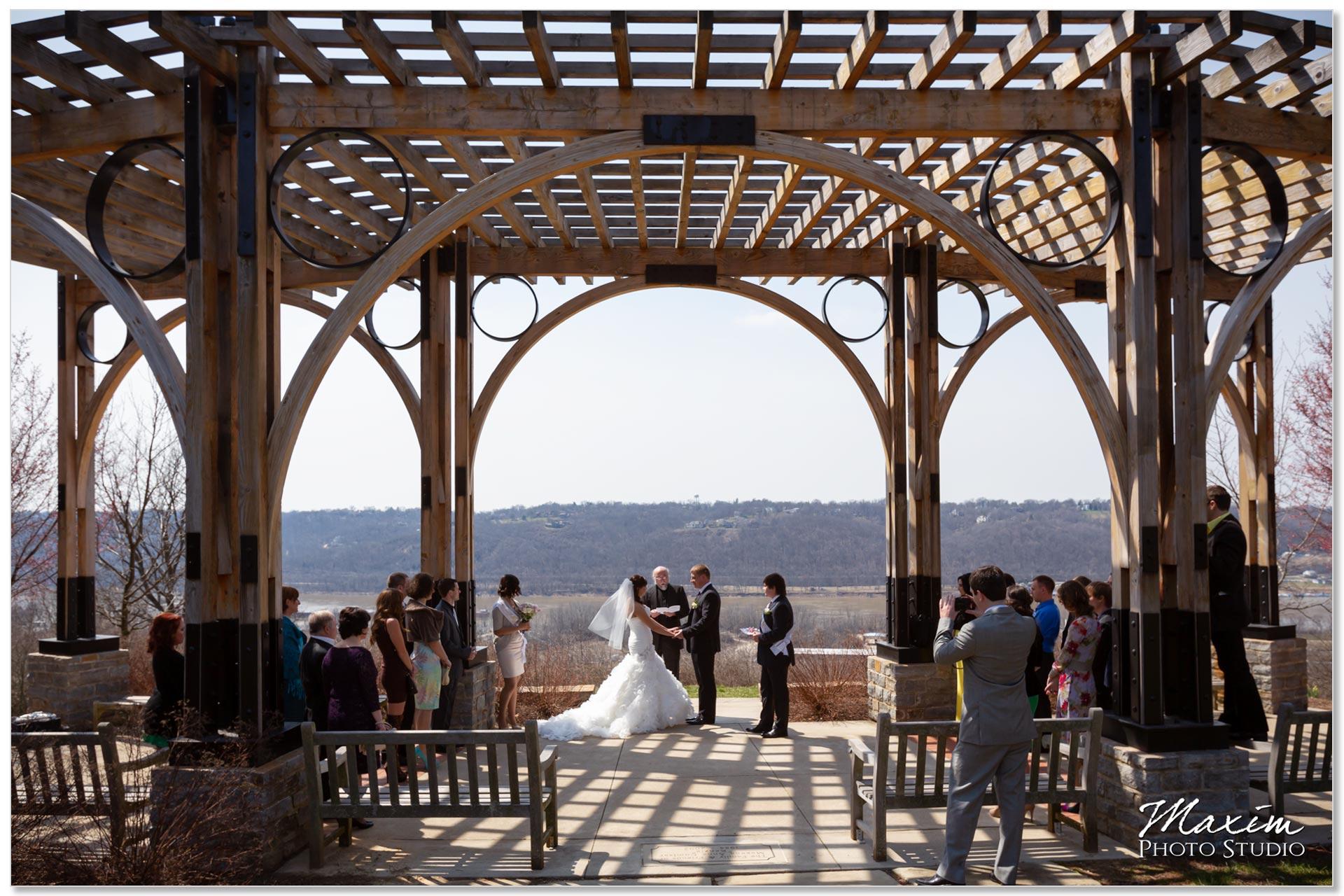 Alms Park Pavilion Russian Cincinnati Wedding