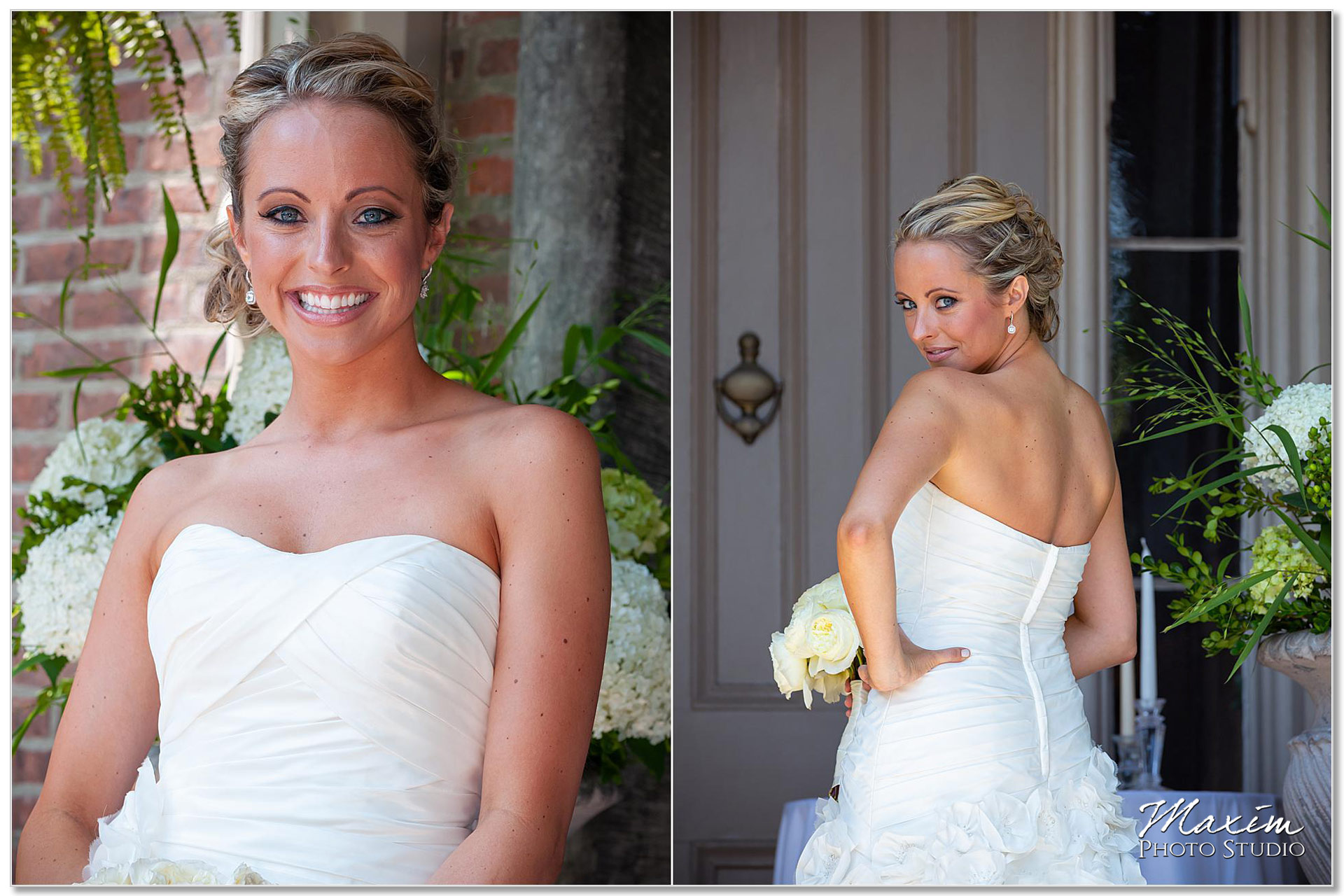 Taylor Mansion Columbus Ohio wedding bride