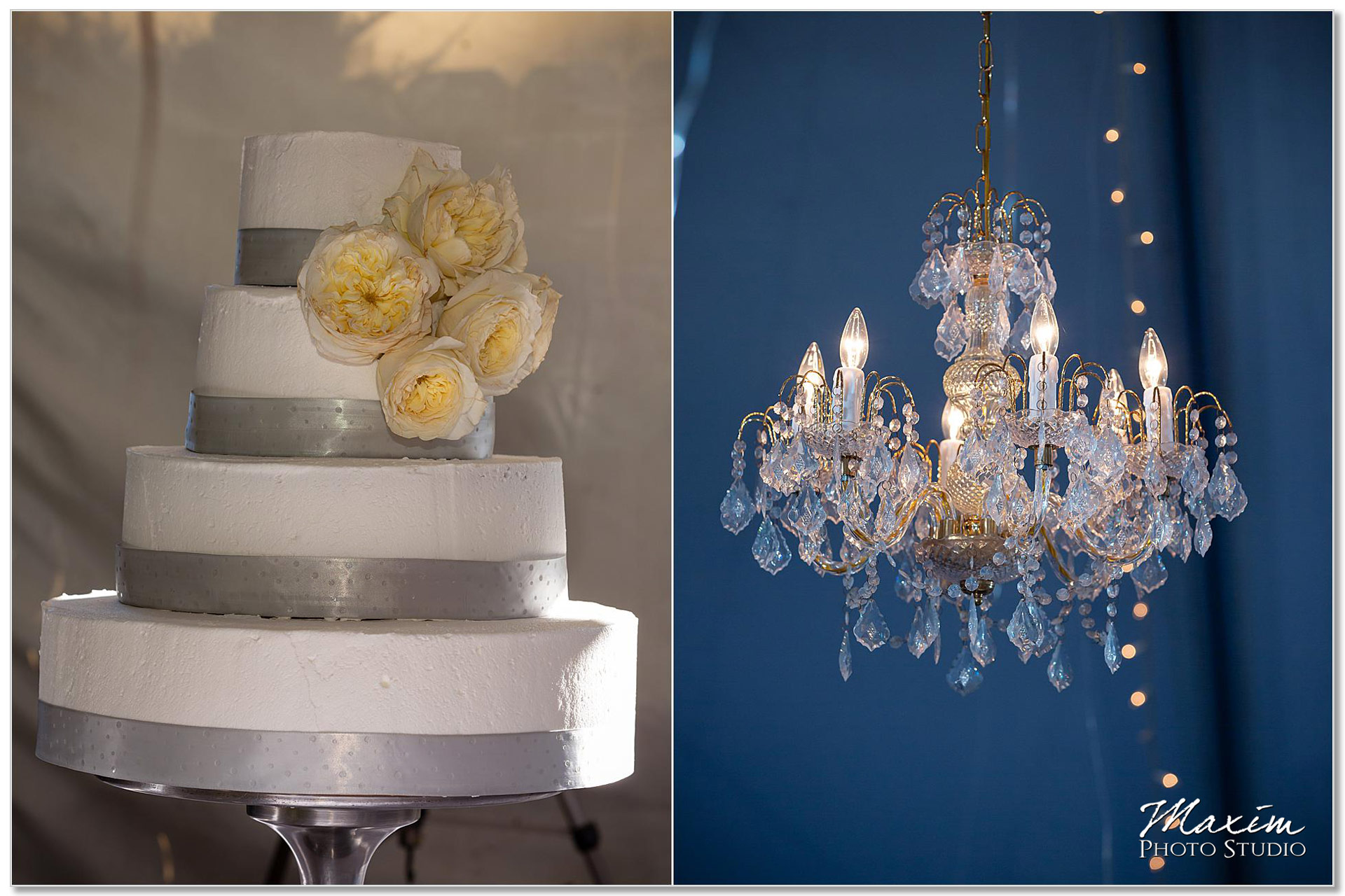 Taylor Mansion Columbus Ohio Wedding Cake