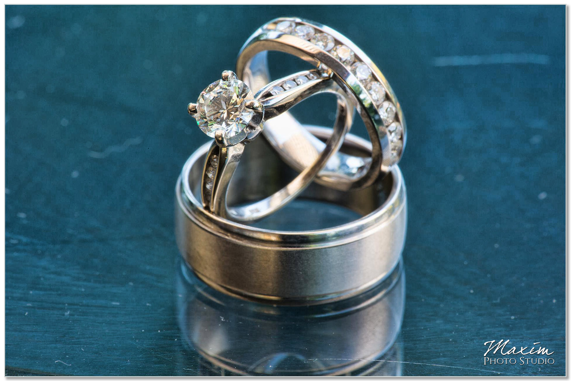 Taylor Mansion Columbus Ohio Wedding rings