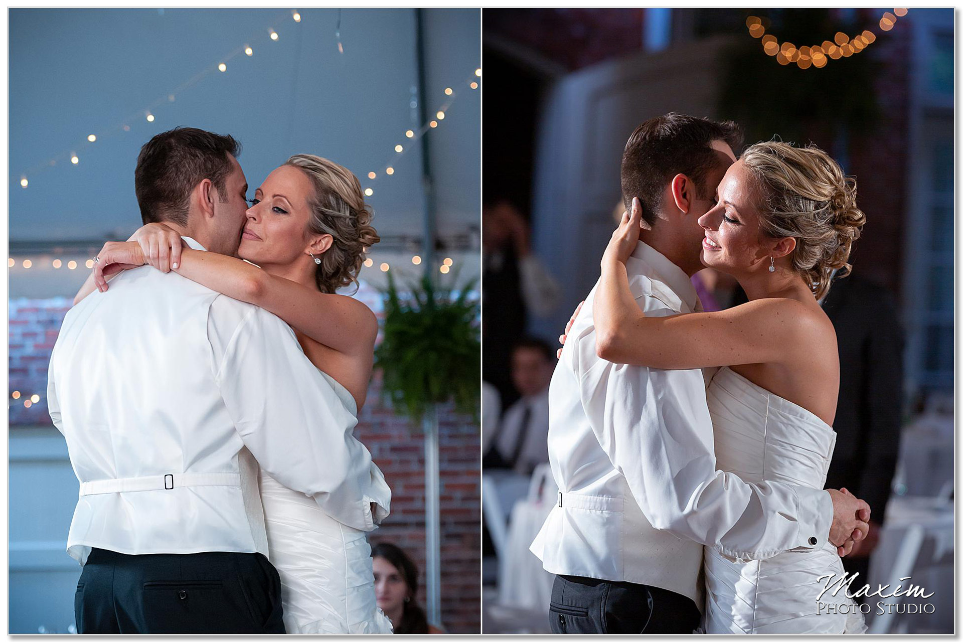 Taylor Mansion Columbus Ohio Wedding first dance