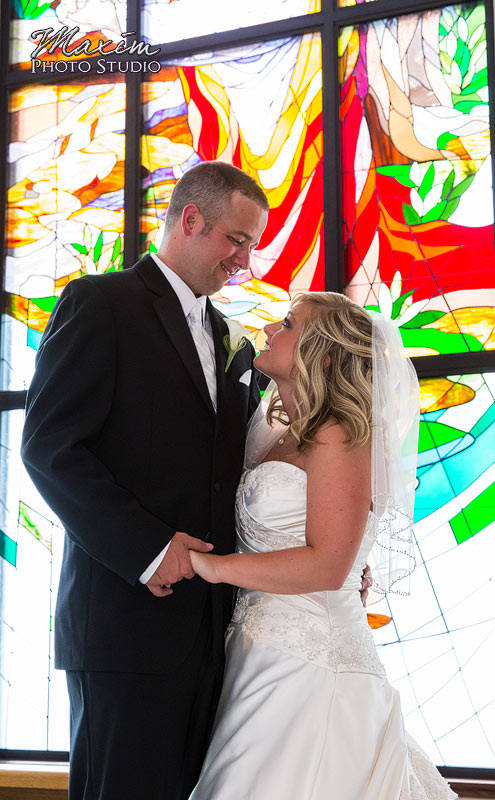 Grace Lutheran Dayton Wedding Photographs